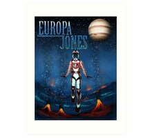 Europa Jones Cover #1 Art Print