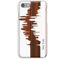 New York lines 3 iPhone Case/Skin