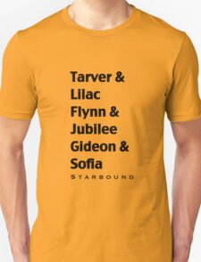 Starbound Couples Unisex T-Shirt