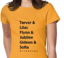Starbound Couples Womens Fitted T-Shirt