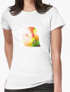 Psychedelic Fairy Child Womens Fitted T-Shirt