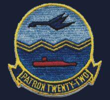 VP-22 - Blue Geese Kids Tee
