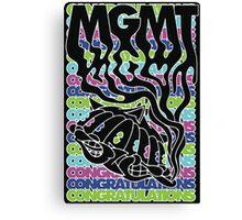 MGMT Cat Canvas Print