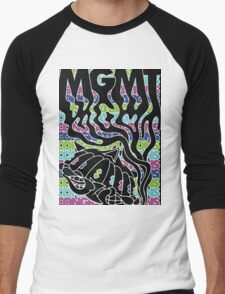 MGMT Cat Men's Baseball ¾ T-Shirt