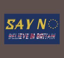 Believe In Britain One Piece - Short Sleeve