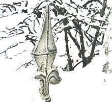 Snowy fence - verschneiter Zaun by DarkMina