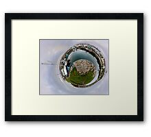 Hurry Head Harbour, Carnlough, County Antrim - Sky out Framed Print