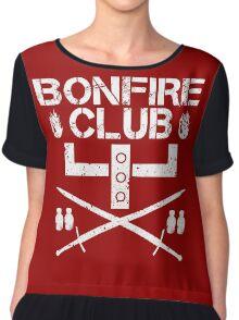 Bonfire Club Chiffon Top