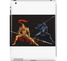 the Lion and the Wolf iPad Case/Skin
