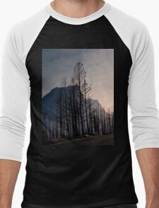 Glacier National Park after 2015 Wildfire .2 Men's Baseball ¾ T-Shirt