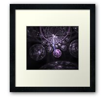 Escape of the Fairies Framed Print
