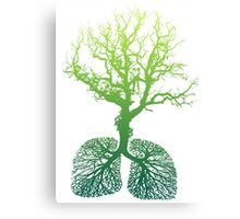 Green Lungs Canvas Print