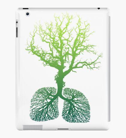Green Lungs iPad Case/Skin