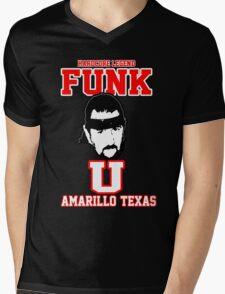 """Terry Funk """"Funk U"""" T Shirt Mens V-Neck T-Shirt"""