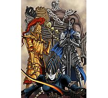 Knight Champions Photographic Print