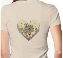 Valentine Dragon Womens Fitted T-Shirt