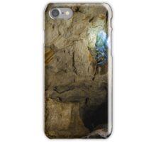Cave interior illuminated by a sunshine iPhone Case/Skin