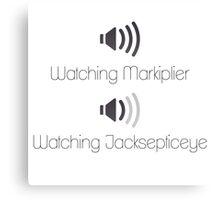Markiplier and Jacksepticeye Volumes Canvas Print