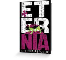 Eternia Republic Greeting Card