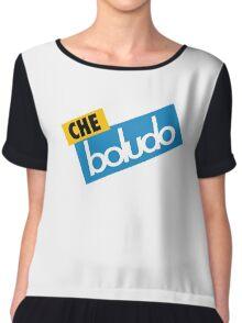 Che Boludo Chiffon Top