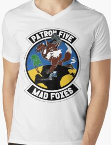 VP-5 Mad Foxes Mens V-Neck T-Shirt