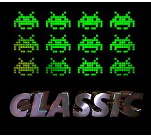 Classic Invaders Photographic Print