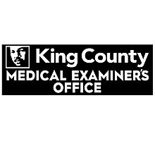 King County Medical Examiner's Office Photographic Print
