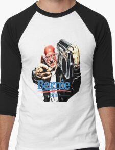 Bernie Sanders Shirt Brooklyn NYC NY Funny President Hip Hop B-Boy Democrat Men's Baseball ¾ T-Shirt