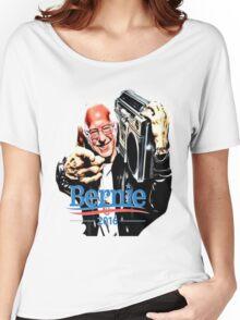 Bernie Sanders Shirt Brooklyn NYC NY Funny President Hip Hop B-Boy Democrat Women's Relaxed Fit T-Shirt