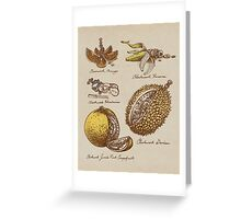 Steampunk  Fruit Greeting Card