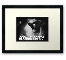 Rocking Breed Framed Print