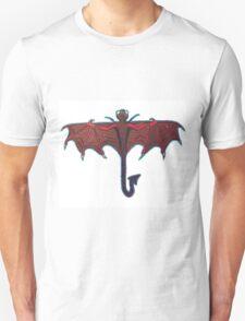 Dragon-Fly (Red & Purple) Unisex T-Shirt