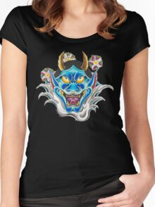 Blue Hannya Women's Fitted Scoop T-Shirt
