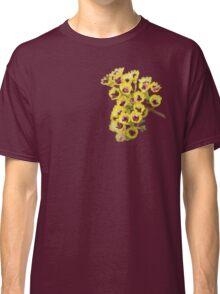Yellow Wildflower with Purple Center Classic T-Shirt