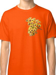 Yellow Wildflower with Purple Center Classic T-Shirt