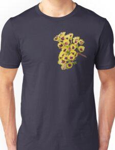 Yellow Wildflower with Purple Center Unisex T-Shirt