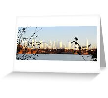 Urban Shores Greeting Card