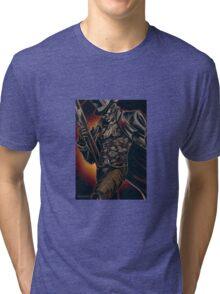 Mysterious Stranger Tri-blend T-Shirt