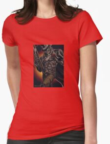 Mysterious Stranger Womens Fitted T-Shirt