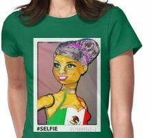 SENORA ALMA: LATINA BARBIE #SELFIE Womens Fitted T-Shirt