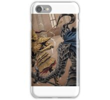 Lion vs Wolf iPhone Case/Skin
