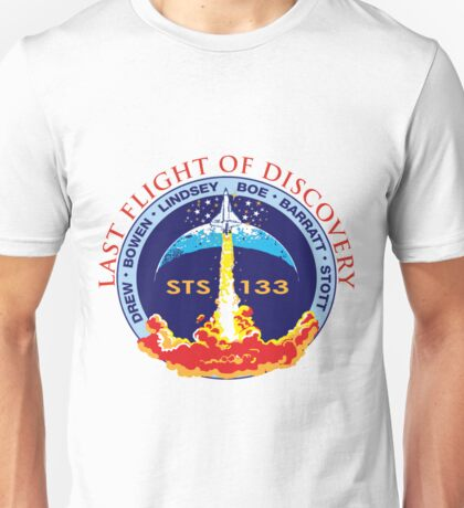 Last Flight of Discovery OV-103 Unisex T-Shirt