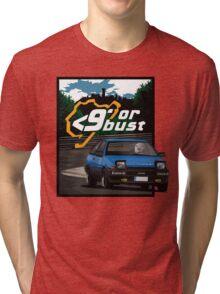 Nurburgring <9' Or Bust Tri-blend T-Shirt