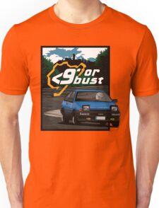 Nurburgring <9' Or Bust Unisex T-Shirt