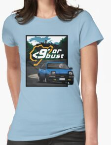 Nurburgring <9' Or Bust Womens Fitted T-Shirt