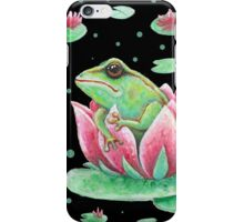 pocka dot & frog iPhone Case/Skin