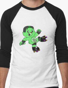 Roller Derby Care Bears (Pivot Bear) Men's Baseball ¾ T-Shirt