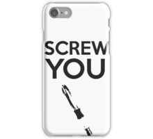 Sonic Screwdriver you iPhone Case/Skin