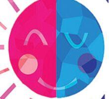 Dia y Noche Sticker