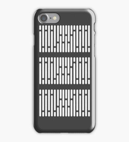 star wars hallway panels iPhone Case/Skin